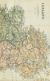 Antique Map of Ireland - Early 1800 Vintage Maps of the World