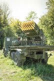 Truck with rockets - 195331666