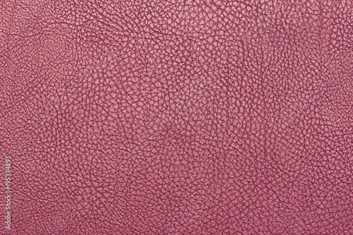 Fototapeta Pink leather background texture surface high resolution