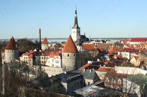Staande foto Praag Old Town, Tallinn, Estonia