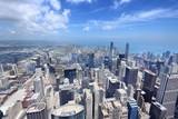Chicago city skyline - 195360040