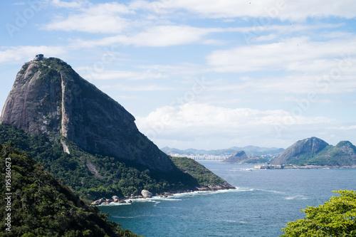 Plexiglas Rio de Janeiro Sugarloaf mountain, Rio de Janeiro, Brazil