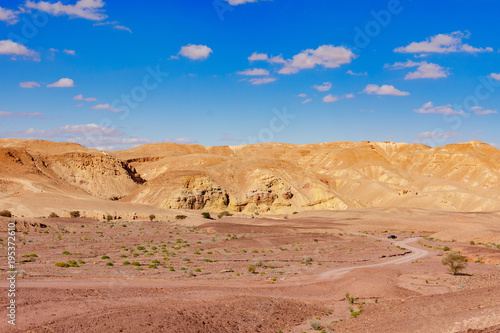 Fotobehang Zalm Red Canyon, Ejlat, Izrael
