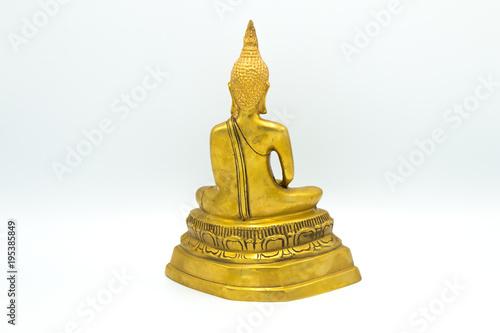Papiers peints Buddha Image of Buddha, isolated on white background ,Buddha statue Buddha image used as amulets of Buddhism religion.