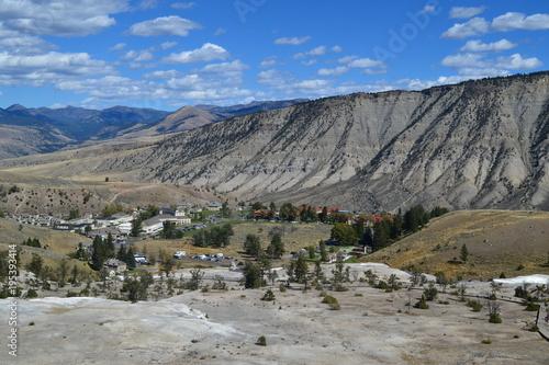 Papiers peints Gris Yellowstone