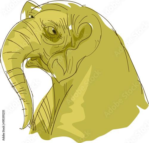 Fototapeta illustration Animal