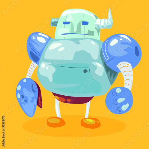 Aluminium Auto illustrator Robot