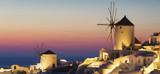 Oia village at sunset - 195396672
