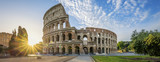 Colosseum in Rome with morning sun - 195396680