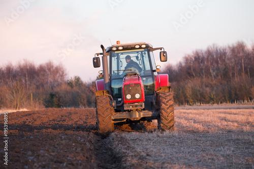 Aluminium Trekker tractor plough