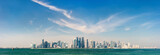 Doha Qatar skyline - 195402423