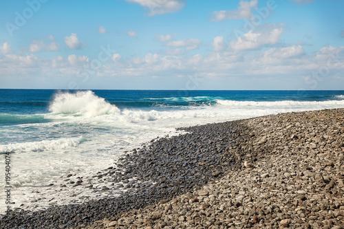 Aluminium Canarische Eilanden Beautiful landscape of Lanzarote Island