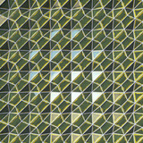 Dark green scratched abstract surface pattern. 3d rendering
