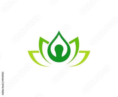 Fototapeta Joga logo