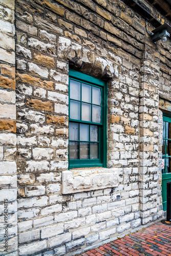 Foto op Plexiglas Canada Window on wall