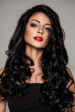 Glamorous Woman with Long Healthy Hair