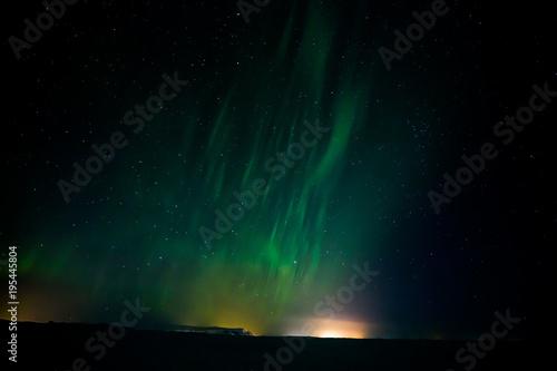 Plexiglas Noorderlicht Polarlicht - Aurora borealis