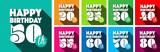 Happy 20th Birthday to Happy 80th Birthday - 195454251
