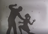 violence - agression - viol - femme - violence - drame - conjugal - victime - jalousie - brutal - harcèlement - 195467688