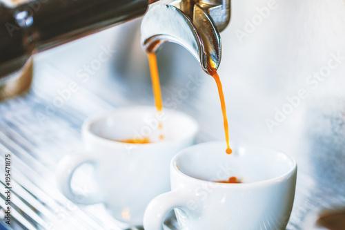 Poster Espresso Zubereitung
