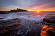 Sunrise at Nubble Lighthouse in Maine