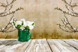 spring time desk