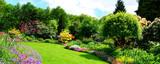 beautiful garden panorama - 195501685