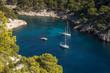 Calanque de Port Pin près de Cassis en Provence , France