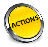 Actions 3d yellow round button - 195530851