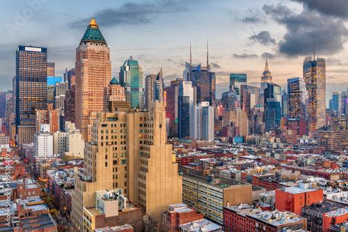 Foto op Aluminium New York Midtown Manhattan Cityscape