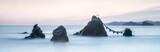 Meoto Iwa Wedded Rocks in Futaminoura, Ise Präfektur, Japan