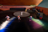 Miniature Roller Skaters Record - 195551427