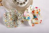 Decorative fabric flower bloom