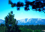 Mountains of Lake Tahoe area