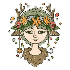Forest spirit girl.