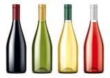 Wine bottles mockups - 195594832