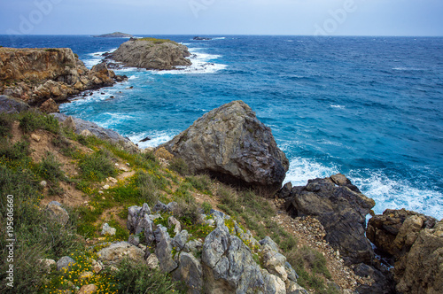Last point of Karpaz peninsula - cape Zafer Burnu, North Cyprus