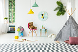 Playroom with toys - 195625410