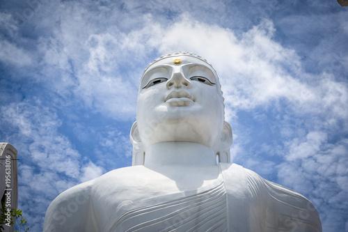 Plexiglas Boeddha White Buddha Kandy