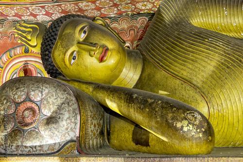 Aluminium Schildpad Sacred Golden Temple cave Buddha