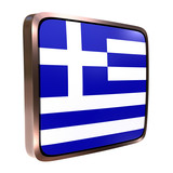 Greece flag icon - 195642868