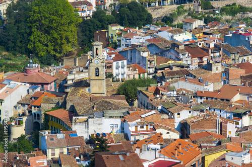 Foto op Canvas Natuur Arbucies village in Girona, Spain