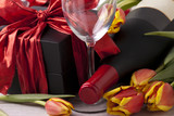 Wine and gift - 195648445