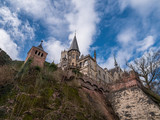The old and acient Marienburg Castle, Germany - 195648842