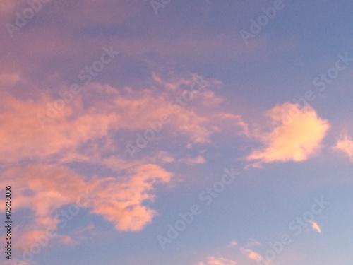 Wolken im Abendrot