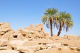 Egyptian Stone Building Rubble - 195650881