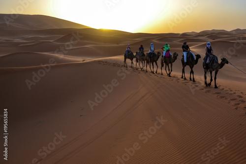 Fotobehang Marokko Merzhouga Desert (Morocco, Sahara)