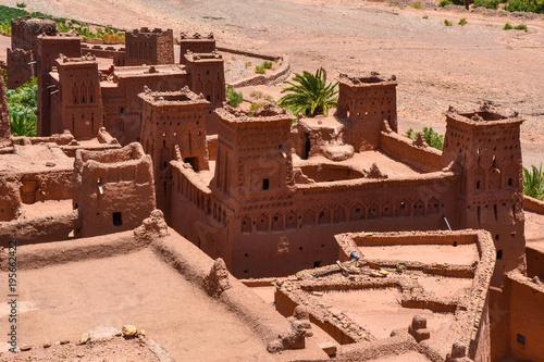 Fotobehang Marokko Ksar