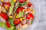 Close up of tuna salad - 195680005
