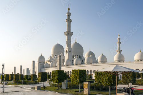 Foto op Aluminium Dubai The Sheikh Zayd Mosque. Abu Dhabi. United Arab Emirates